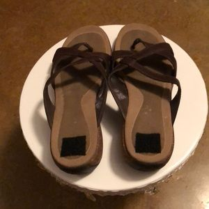 Shoes - Merrell brown sandals